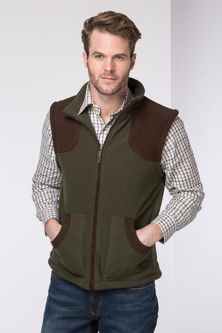Lisset Sherpa Lined Country Fleece Bodywarmer