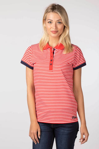 Matilda Stripe Polo Shirt