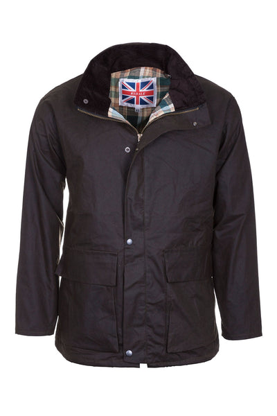Olive - Mens Cawood Wax Jacket