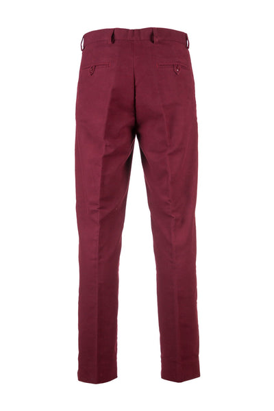 Red - Rydale Moleskin Trousers for Men