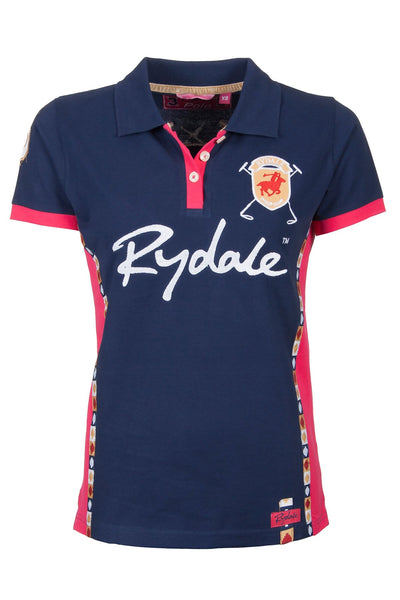 Navy - Ladies Rydale Muston Pique Polo Shirt