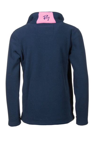 Navy - Junior Contrast Fleece