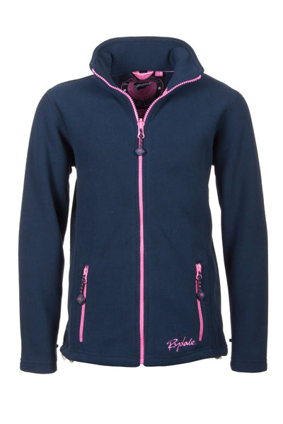Navy - Junior Full zip Fleece Jacket