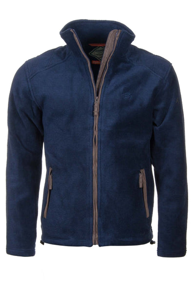 Navy - Egton Full Zip Fleece