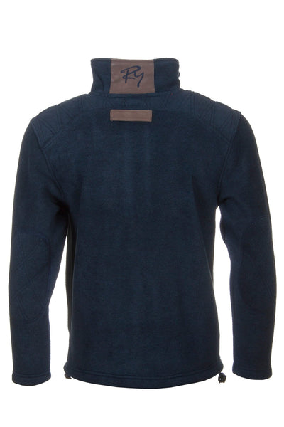 Navy Pheasant - Egton Full Zip Fleece