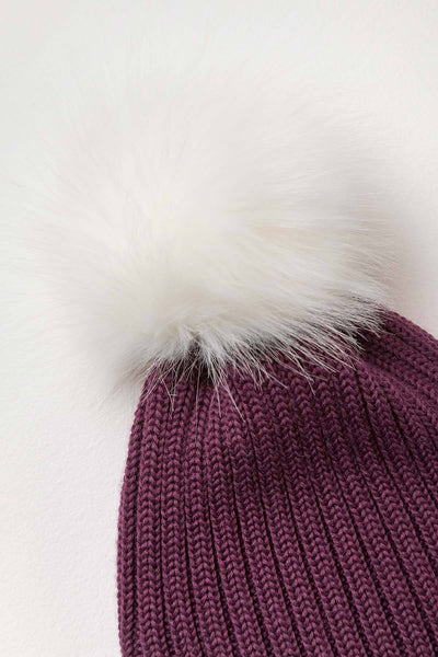 Berry - Ladies Poppy Pom Pom Hat