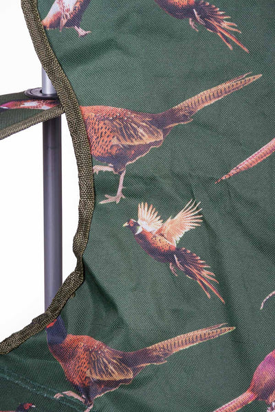 Olive Pheasant - Rydale Patterned Camping Chair