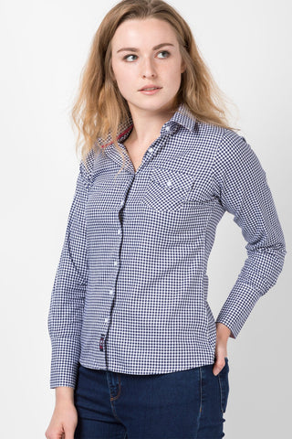 Hannah Country Check Shirt - Grace