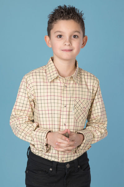 Gransmoor Lovat - Rydale Juniors' Boys' Country Check Shirts
