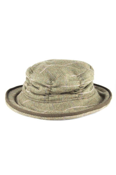 Small Check - Ladies Tweed Dress Hat