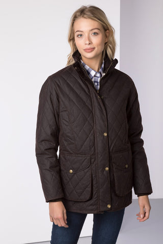 Wrelton Diamond Quilted Wax Jacket