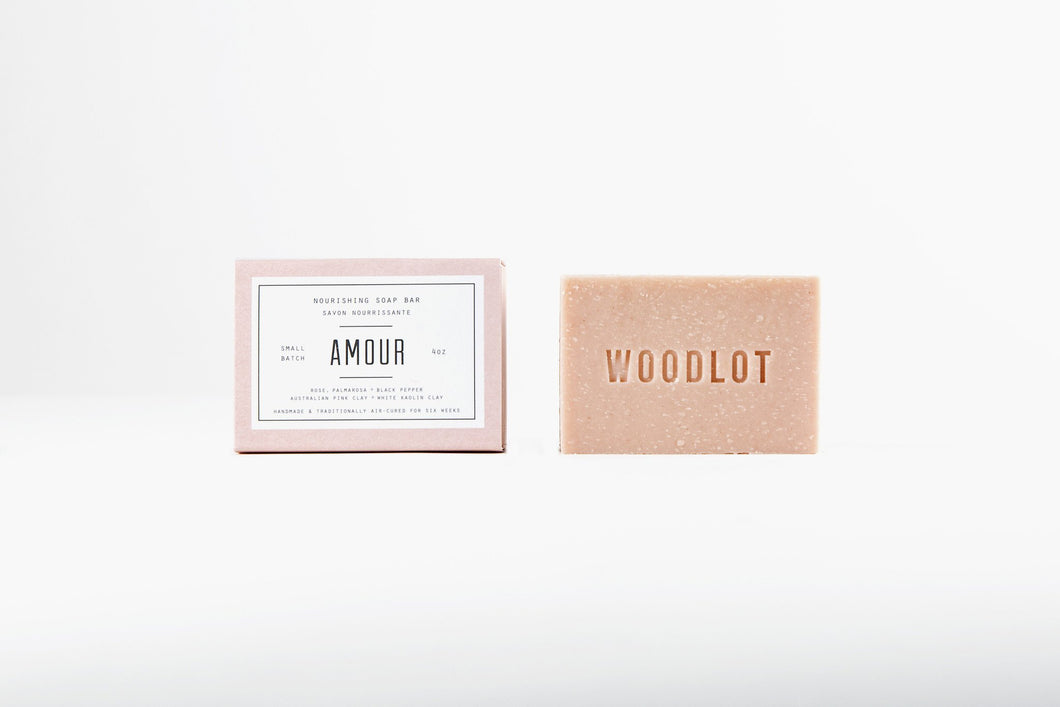 WOODLOT AMOUR – 4OZ SOAP BAR