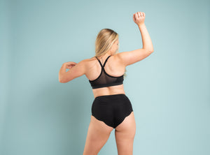 BP3 Washable Incontinence and Period Sporty High Waisted Coni Knickers