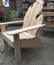 Load image into Gallery viewer, White Pine High Rise Adirondack Style Chair