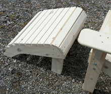 Load image into Gallery viewer, White Pine Adirondack Footstool
