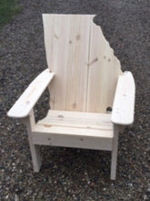 Load image into Gallery viewer, White Pine Georgia Adirondack Chair