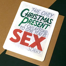 Load image into Gallery viewer, Christmas Sex Card