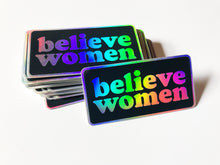 Load image into Gallery viewer, Believe Women Sticker