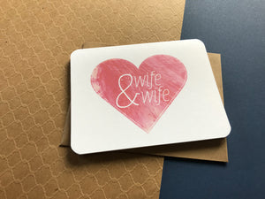 Inclusive Wedding Card