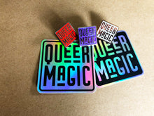 Load image into Gallery viewer, Red Queer Magic Pin