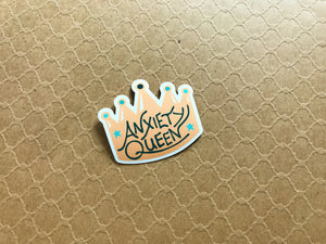 Anxiety Queen Sticker