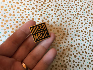 Black Queer Magic Pin