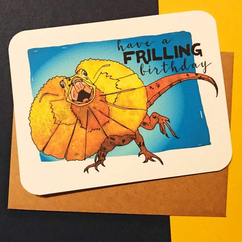 Have A Frilling Birthday Card