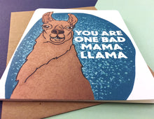 Load image into Gallery viewer, Mama Llama Card