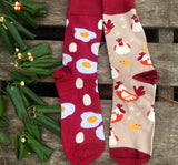 Chicken and Egg Socks