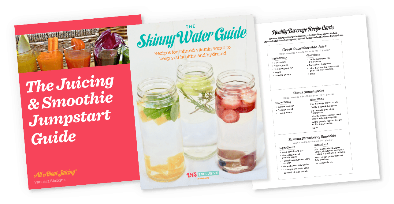 3 Covers of Juicing and Smoothie eBooks