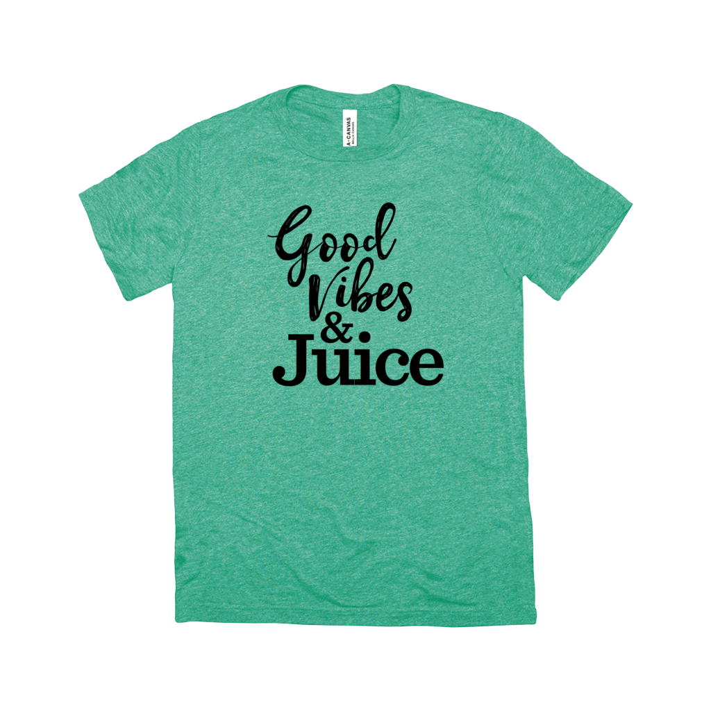 Good Vibes & Juice T-Shirt - Black