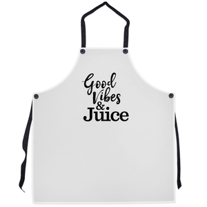 Good Vibes & Juice Apron