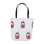 Red Juice Tote Bag