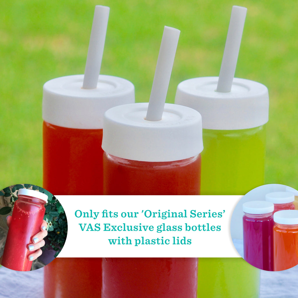 Straw Lids for Original Series Glass Bottles