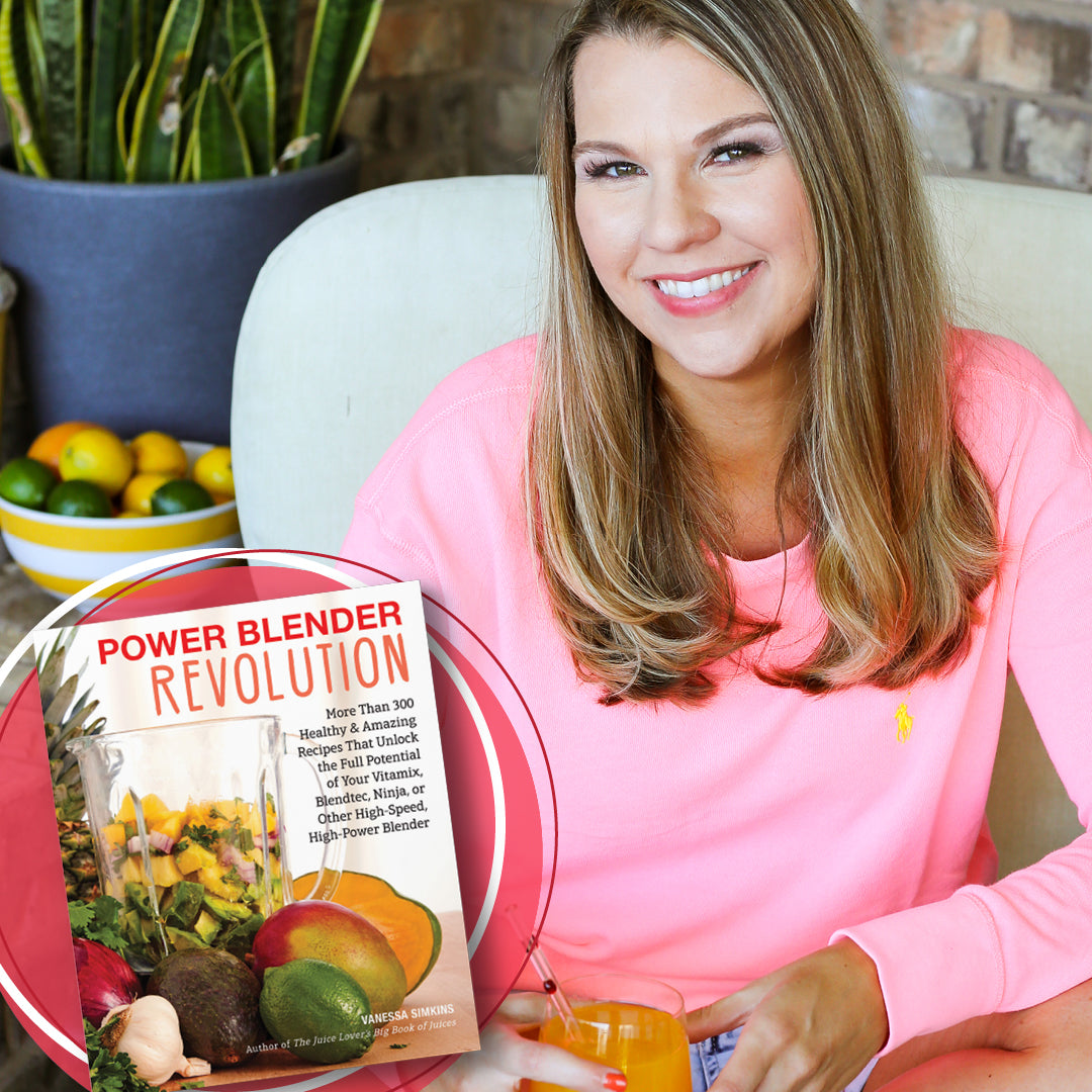 Power Blender Revolution: More Than 300 Healthy and Amazing Recipes That Unlock the Full Potential of Your Vitamix, Blendtec, Ninja, or Other High-Speed, High-Power Blender (Signed copy)