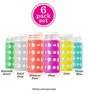 silicone glass bottle protective sleeves