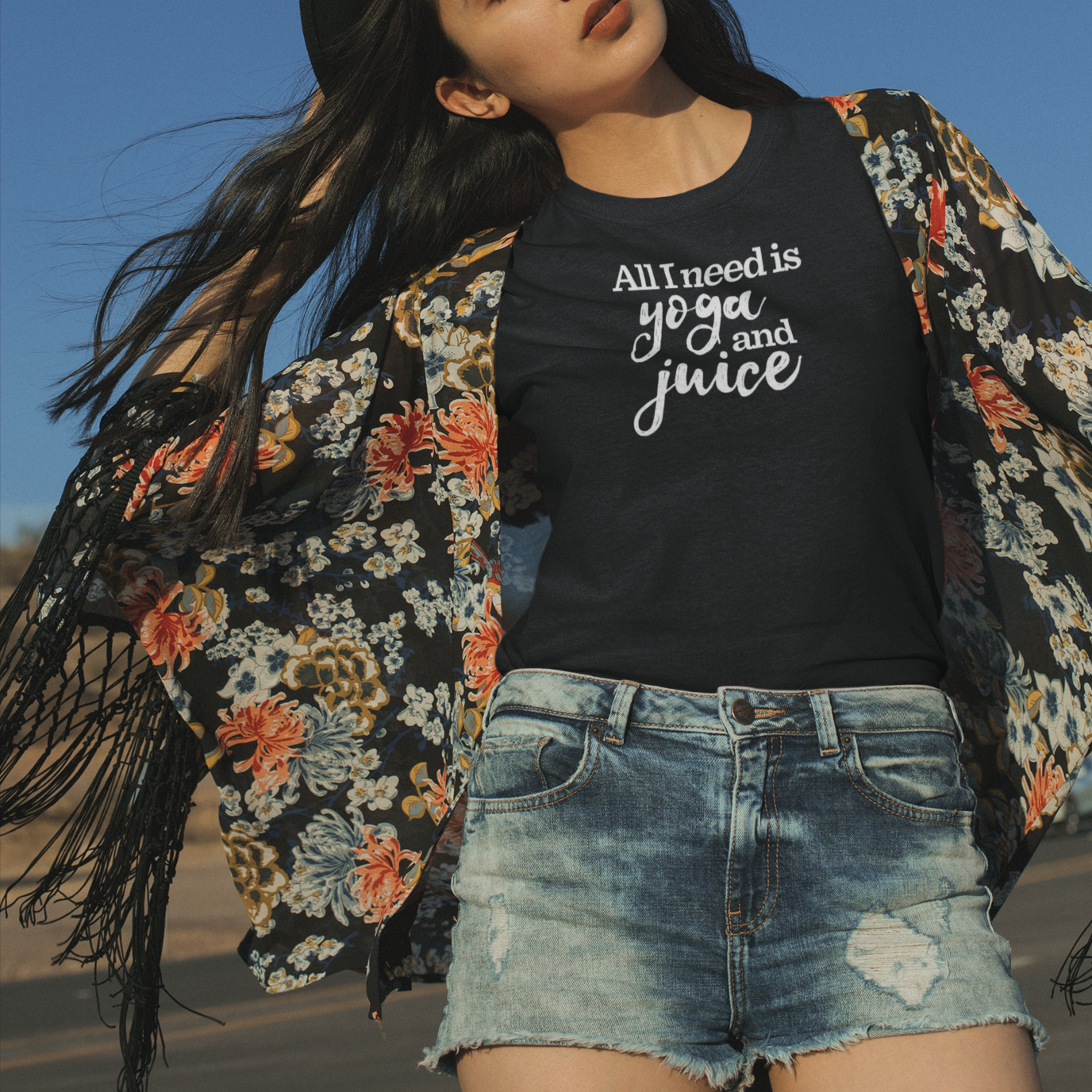 All I Need is Yoga and Juice T-Shirt