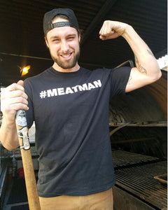 Brendan Lamb is a #meatman and cooks BBQ every day. His life is barbecue and he is part of an army of #meatmen