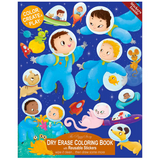 Dry Erase Coloring Book - Outer Space