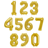Gold Foil Numbers: