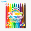 Yummy Scented Twist Up Crayons Set