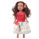 Doll Dress: Moana