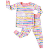 Little Sleepies 2pc PJs: Sunrise Stripe