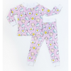 Little Sleepies: 2pc PJ Set: Pink Breakfast