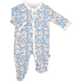 Magnetic Me: somebunny floral modal magnetic footie