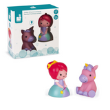 Light Up Bath Squirters: princess & unicorn