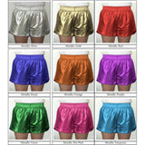 Metallic Athleisure  Short: