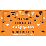 Pumpkin Decorating: October 14th