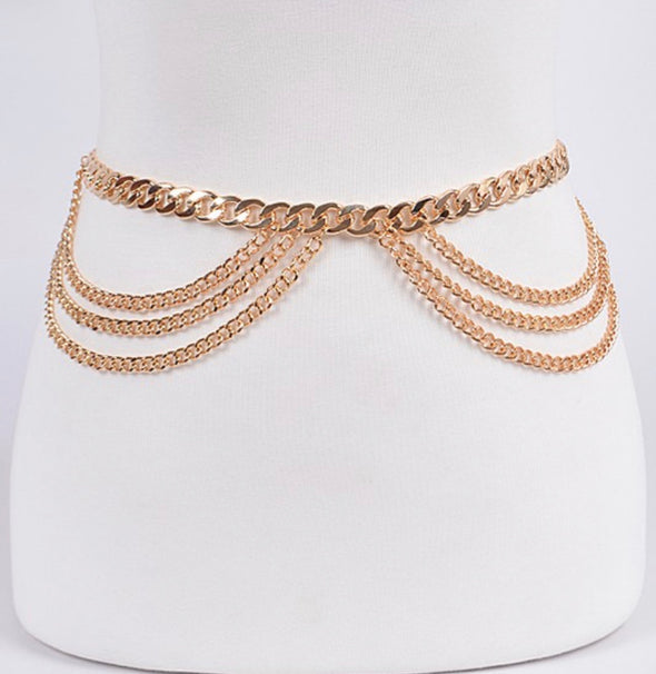 Two Sides Chain Belt
