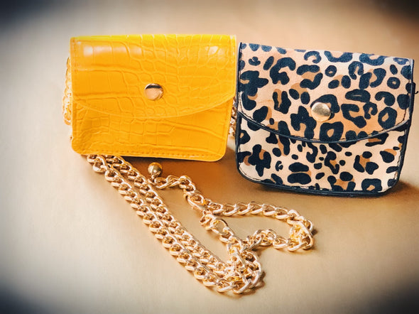 mini chain pouch